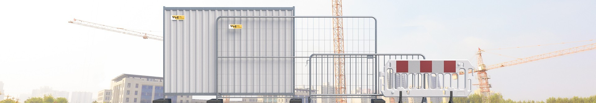 Barierki ochronne metalowe lub aluminiowe dla bezpieczeństwa - producent barier | Sklep internetowy TLC Rental